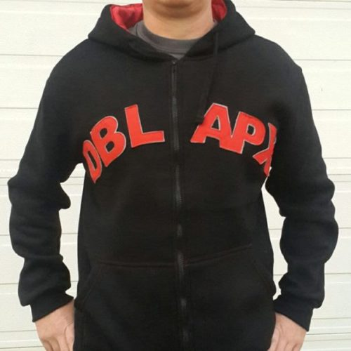 Double Apex warm hoodie black