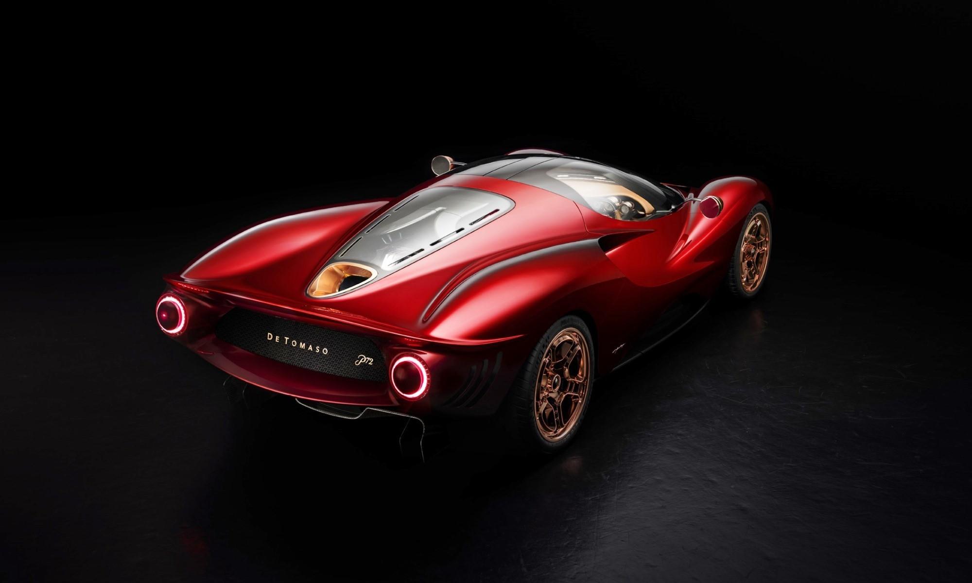 De Tomaso P72 rear