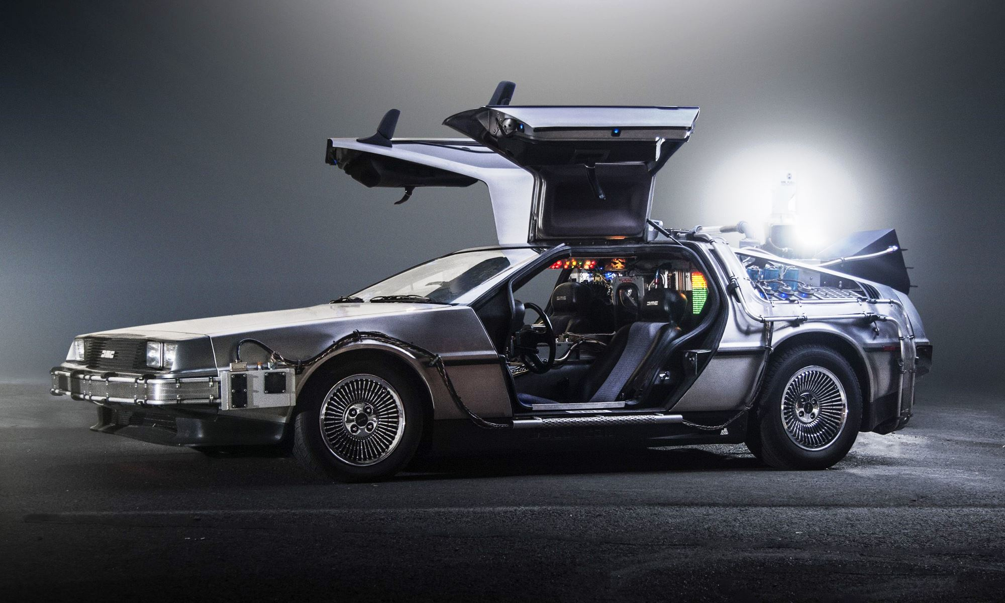Doc Brown's DeLorean