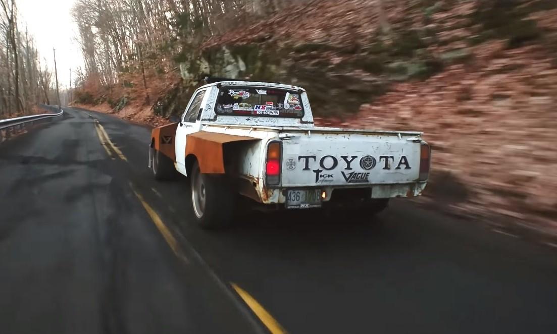 Deathwish 1977 Toyota Hilux rear