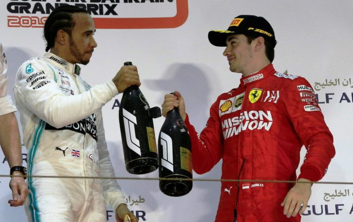 Does Lewis see Charles as more of a threat than Seb?