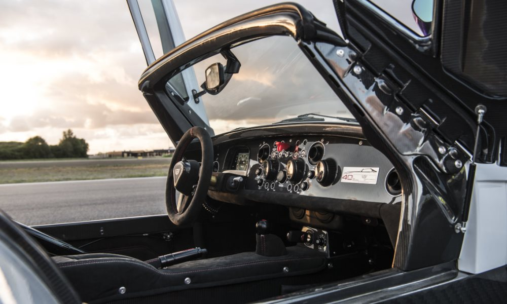 Donkervoort D8 GTO-40 interior