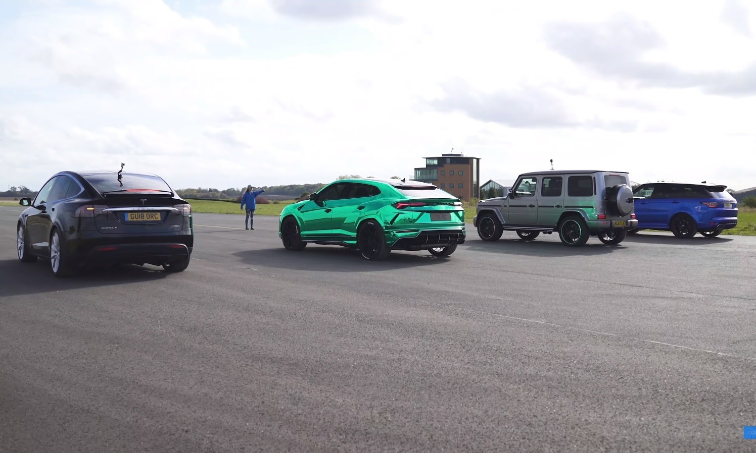 Drag race video