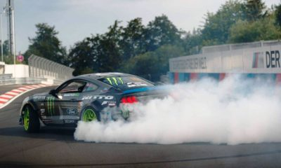 Drift King of the Ring Vaughn Gittin Jr burnout