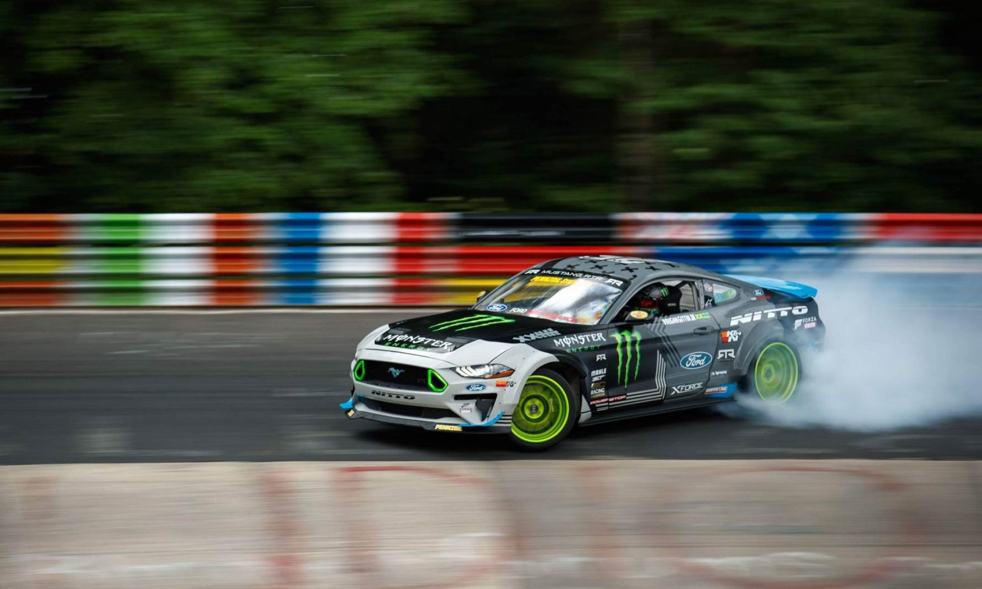 Drift King of the Ring Vaughn Gittin Jr on the Karrussell