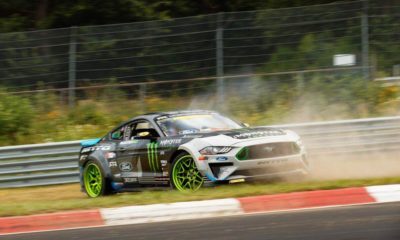 Vaughn Gittin, Jr is Drift King of the Ring as he completes a full lap of the famous Nurburgring going sideways.