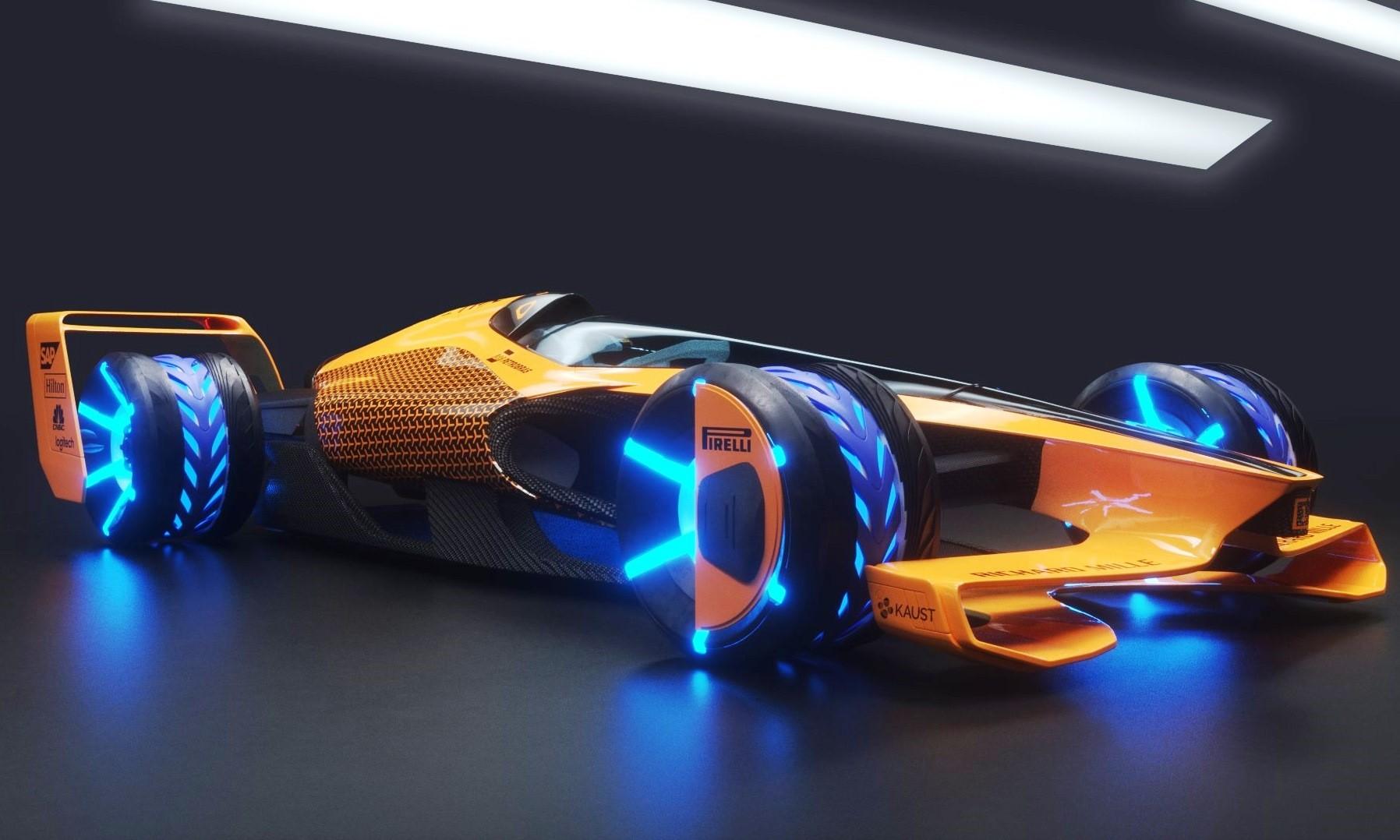McLaren Future Grand Prix racecar