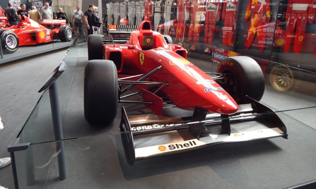 Early Ferrari F1 car