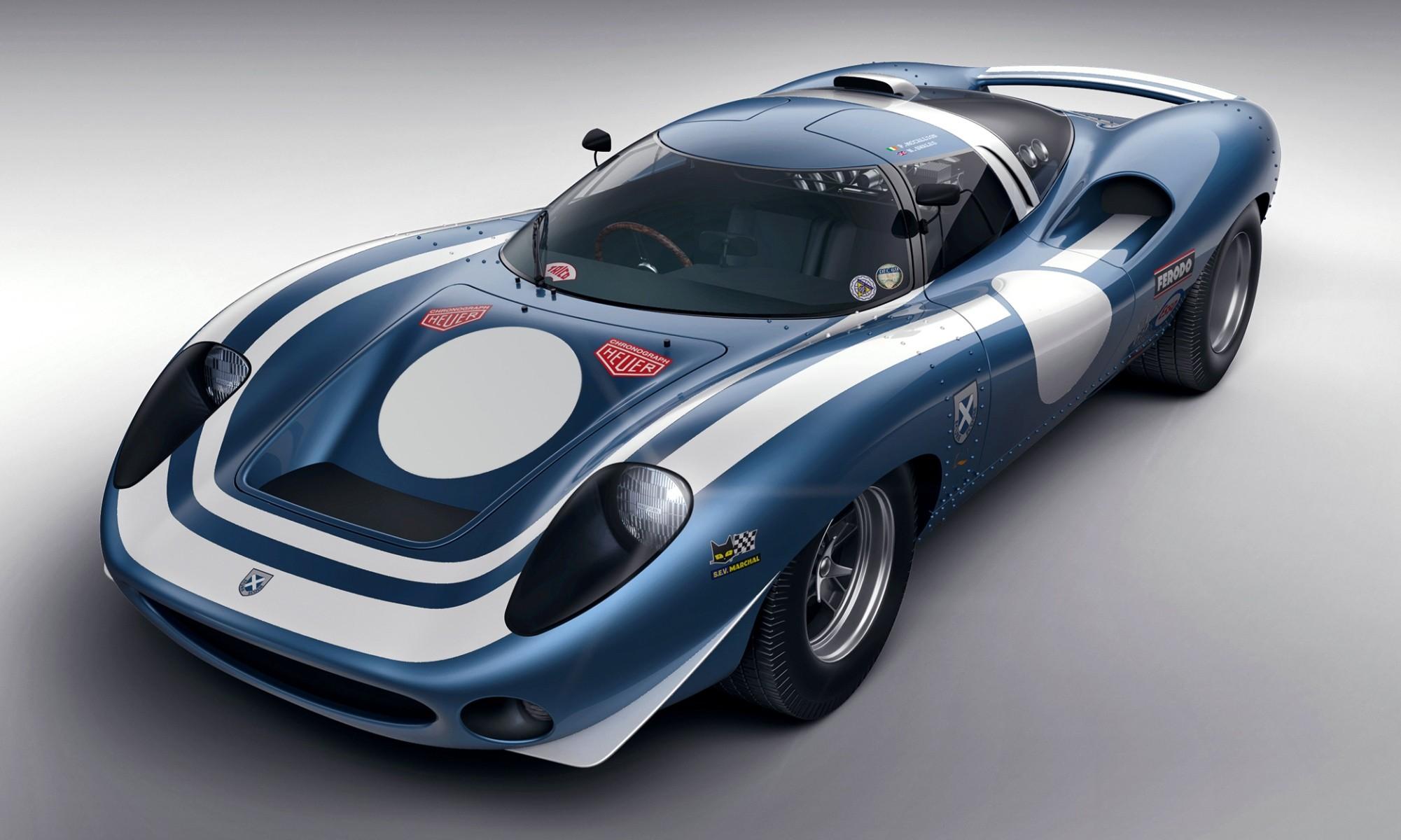 Ecurie Ecosse LM69 Concept front