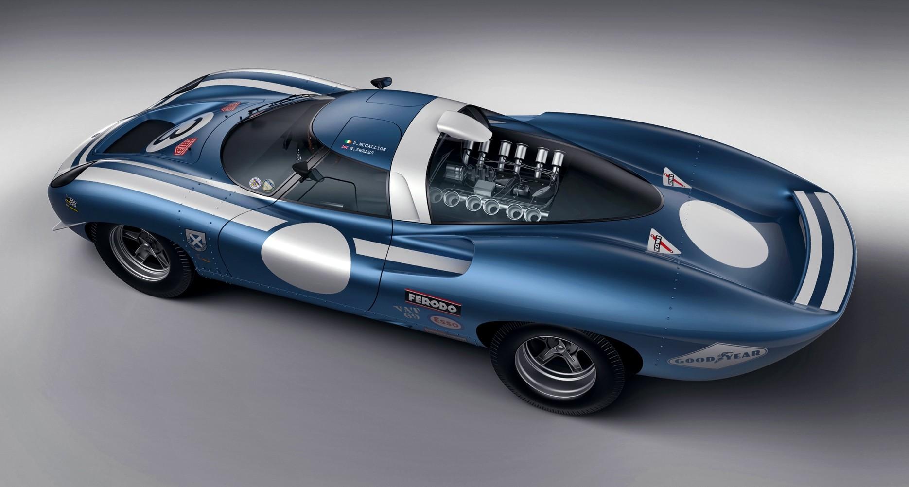 Ecurie Ecosse LM69 Concept rear