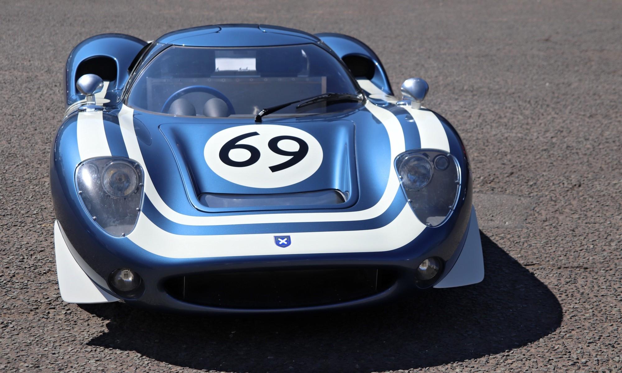 Ecurie Ecosse LM69 front