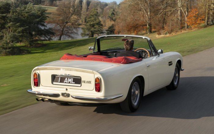 Electric Aston Martin rear