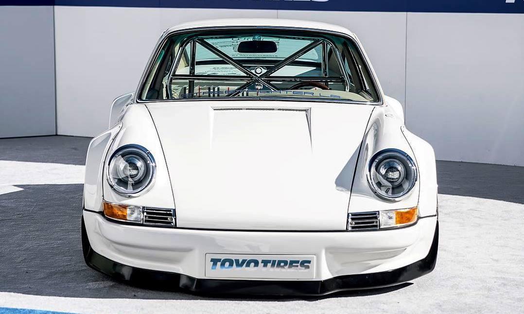 Electric Porsche 911 front