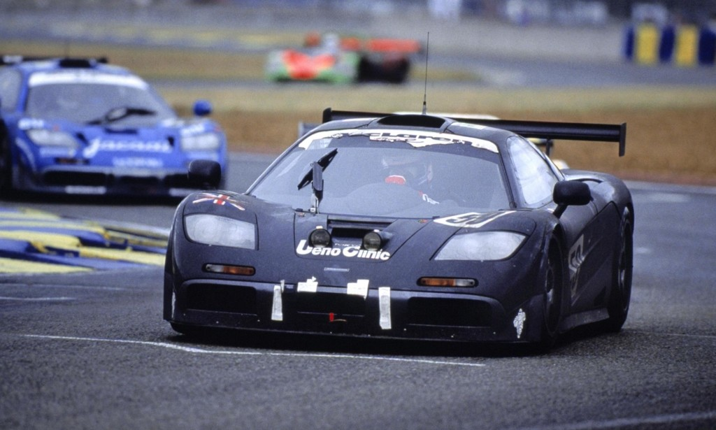McLaren F1 GTR winning car at Le Mans 1995