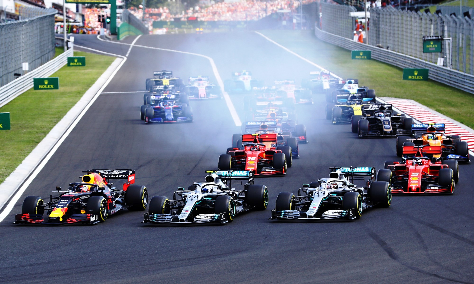 F1 Review Hungary 2019