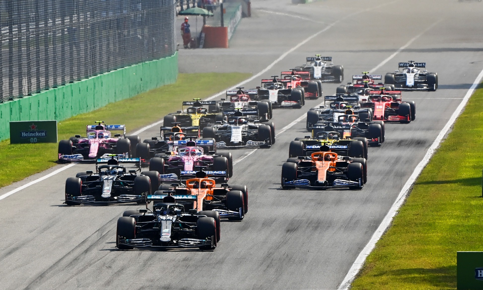 F1 Review Italy 2020