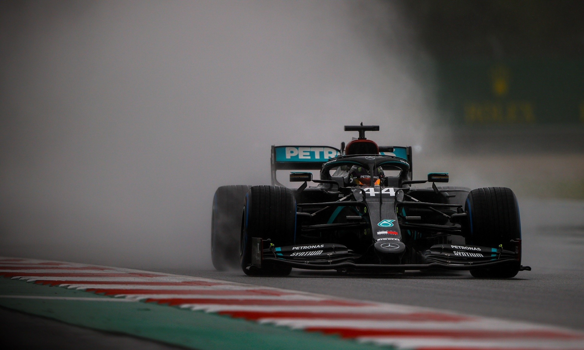 F1 Review Styria 2020 Lewis Hamilton in qualifying
