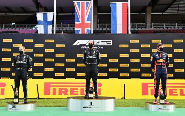 F1 Review Styria 2020 podium