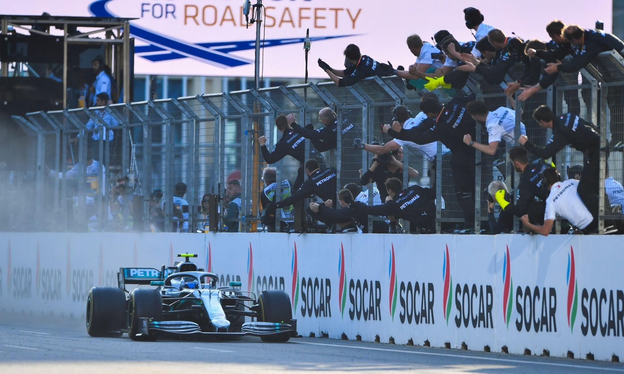 F1 review Baku 2019