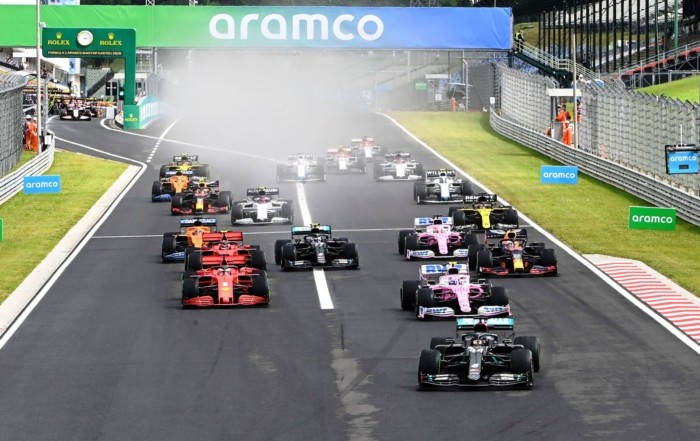 F1 review Hungary 2020 opening lap