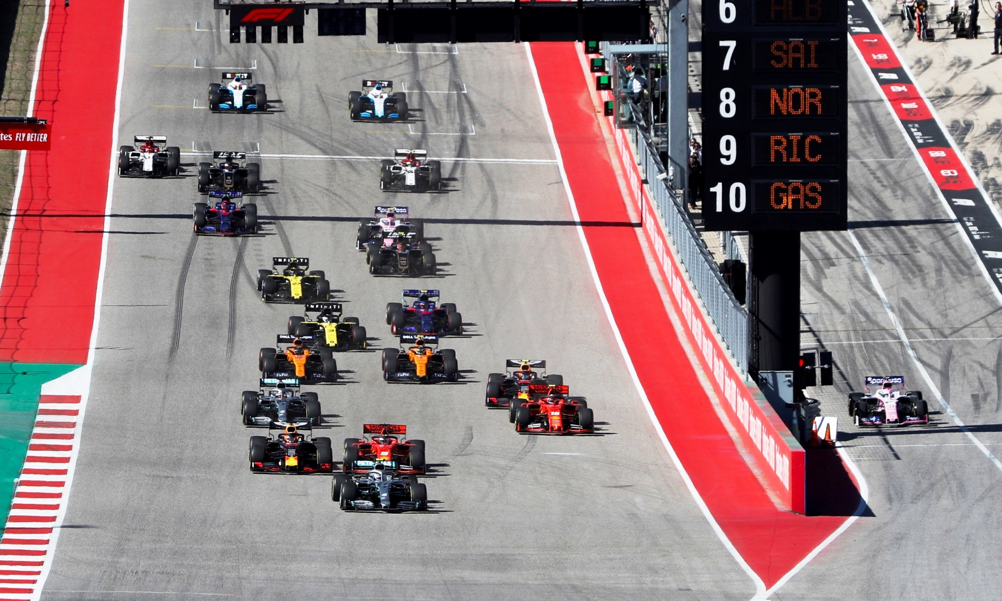 F1 review USA 2019