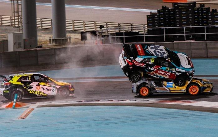 FIA RX crash