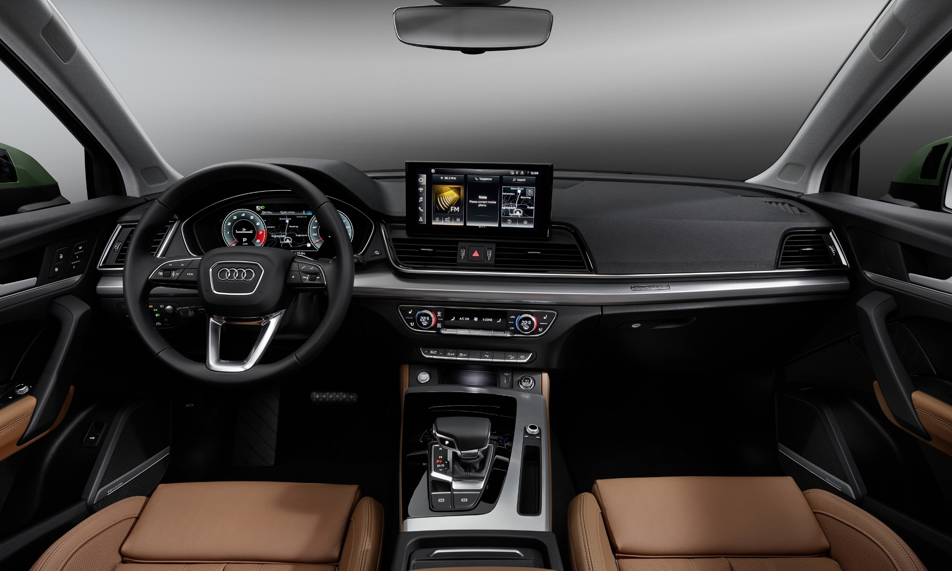 Facelifted Audi Q5 interior