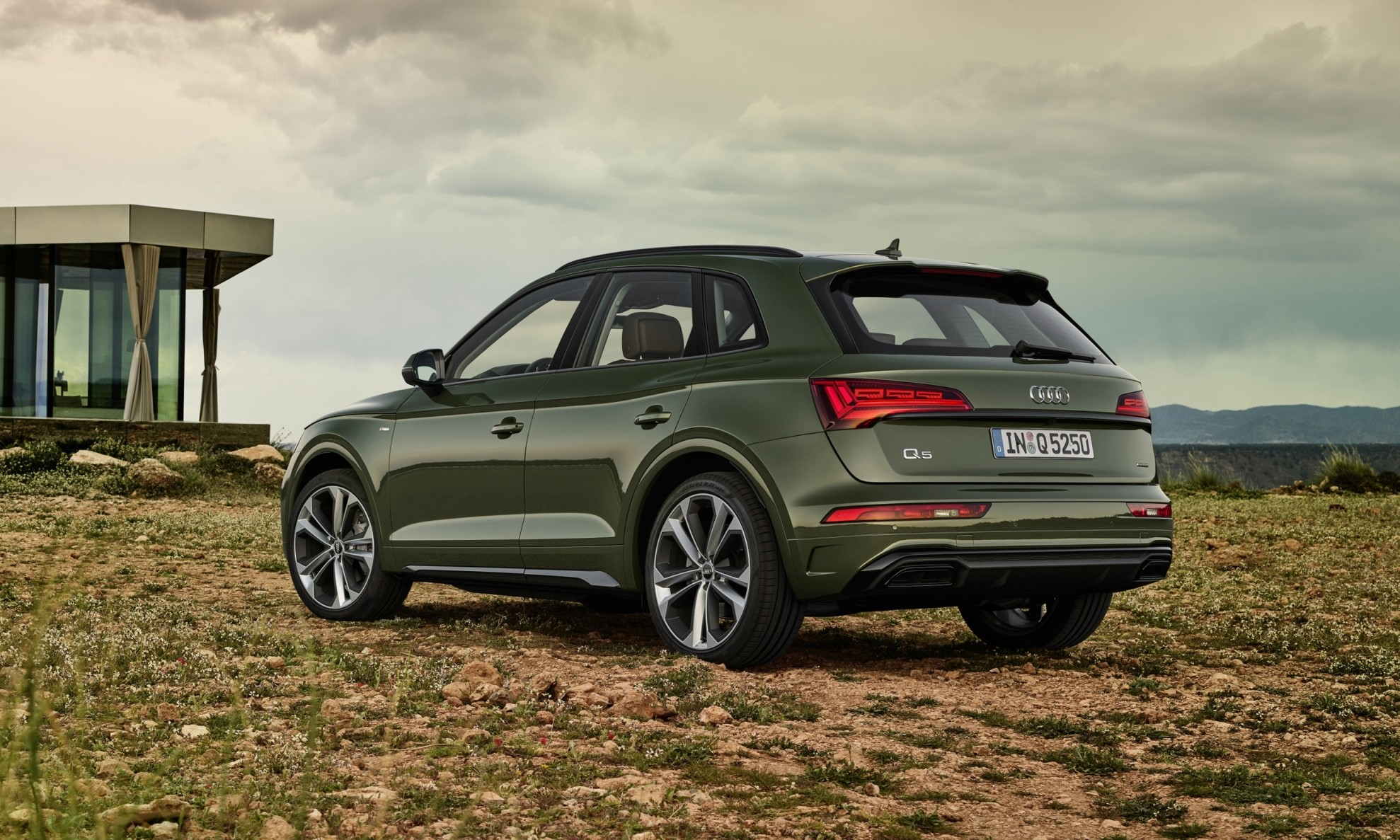 Facelifted Audi Q5 rear