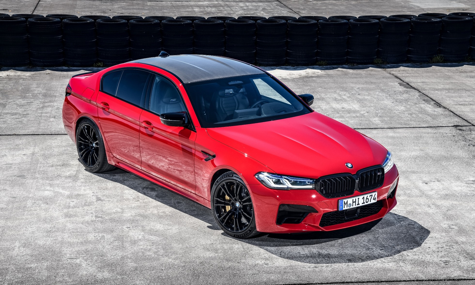 Facelifted BMW M5