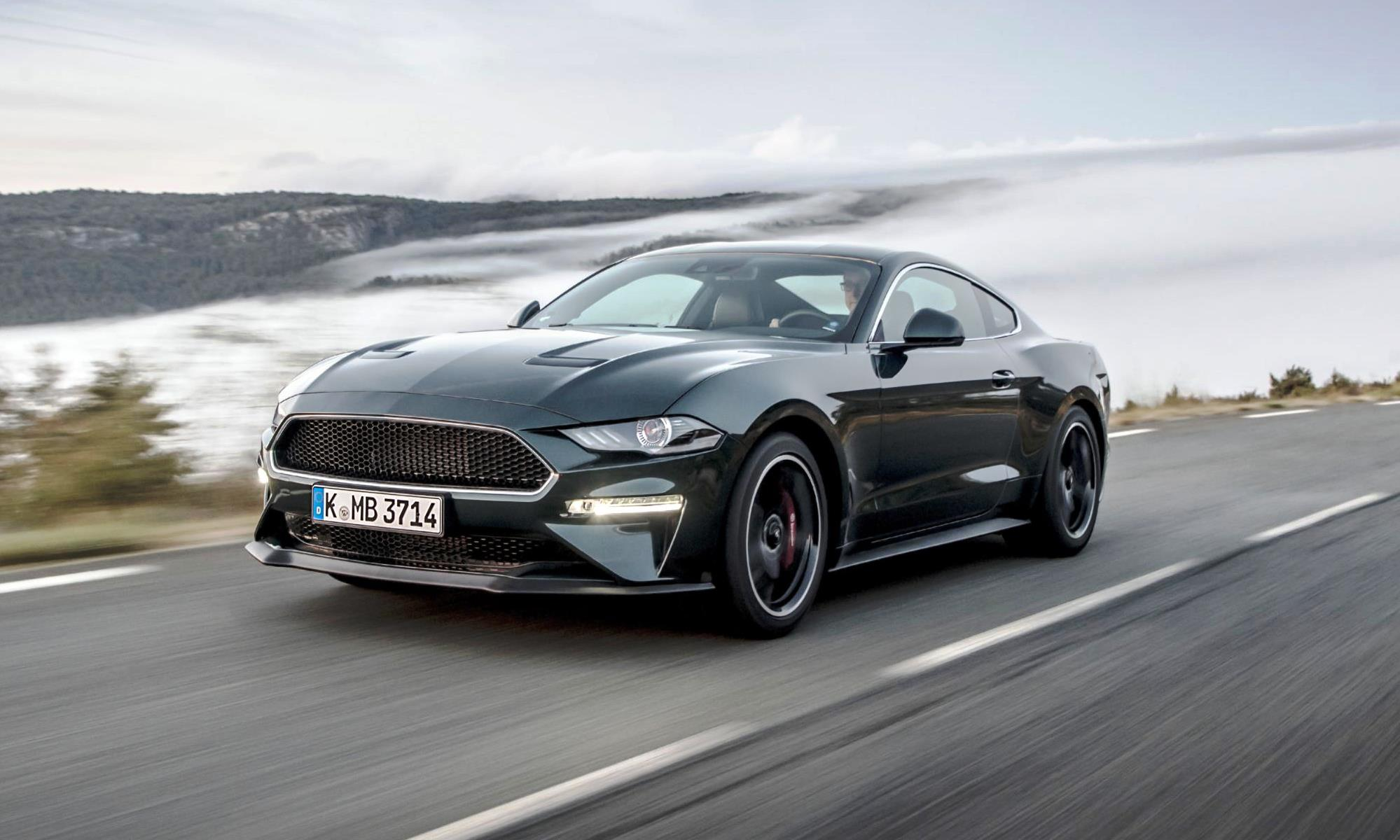Facelifted Ford Mustang Bullitt side