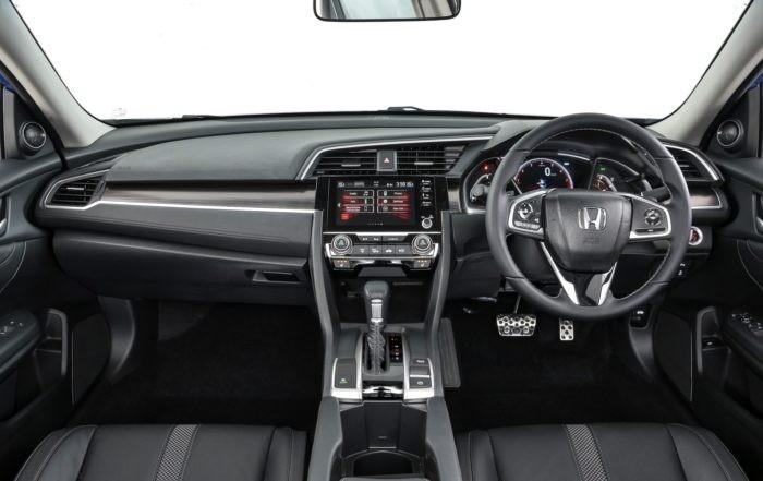 Facelifted Honda Civic interior