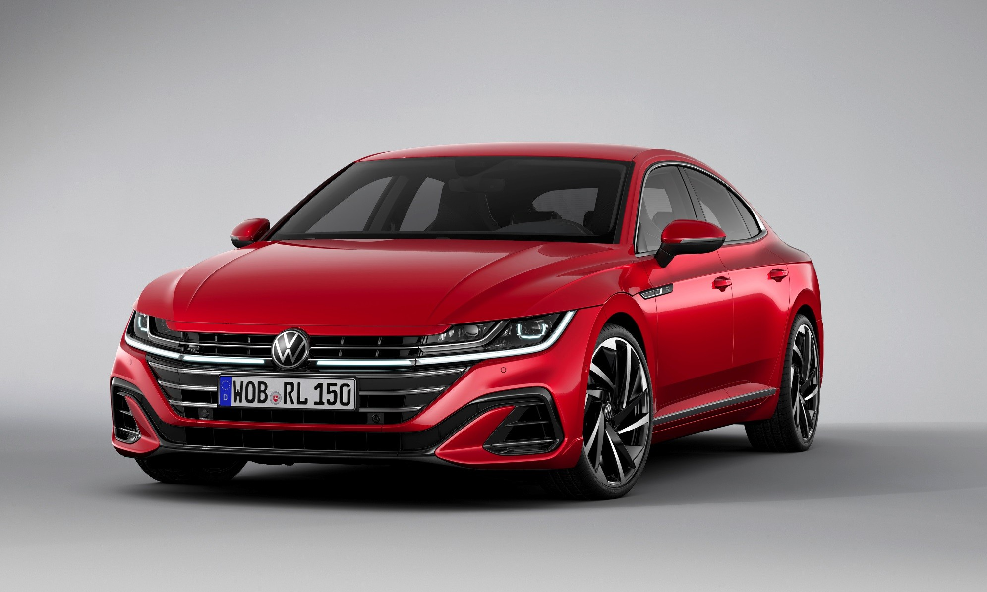 Facelifted VW Arteon