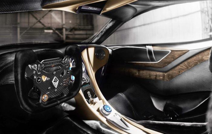 Felino CB7R interior