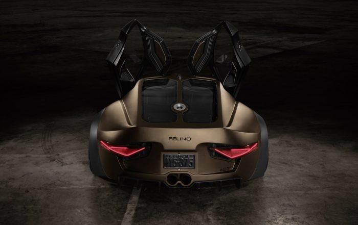 Felino CB7R rear
