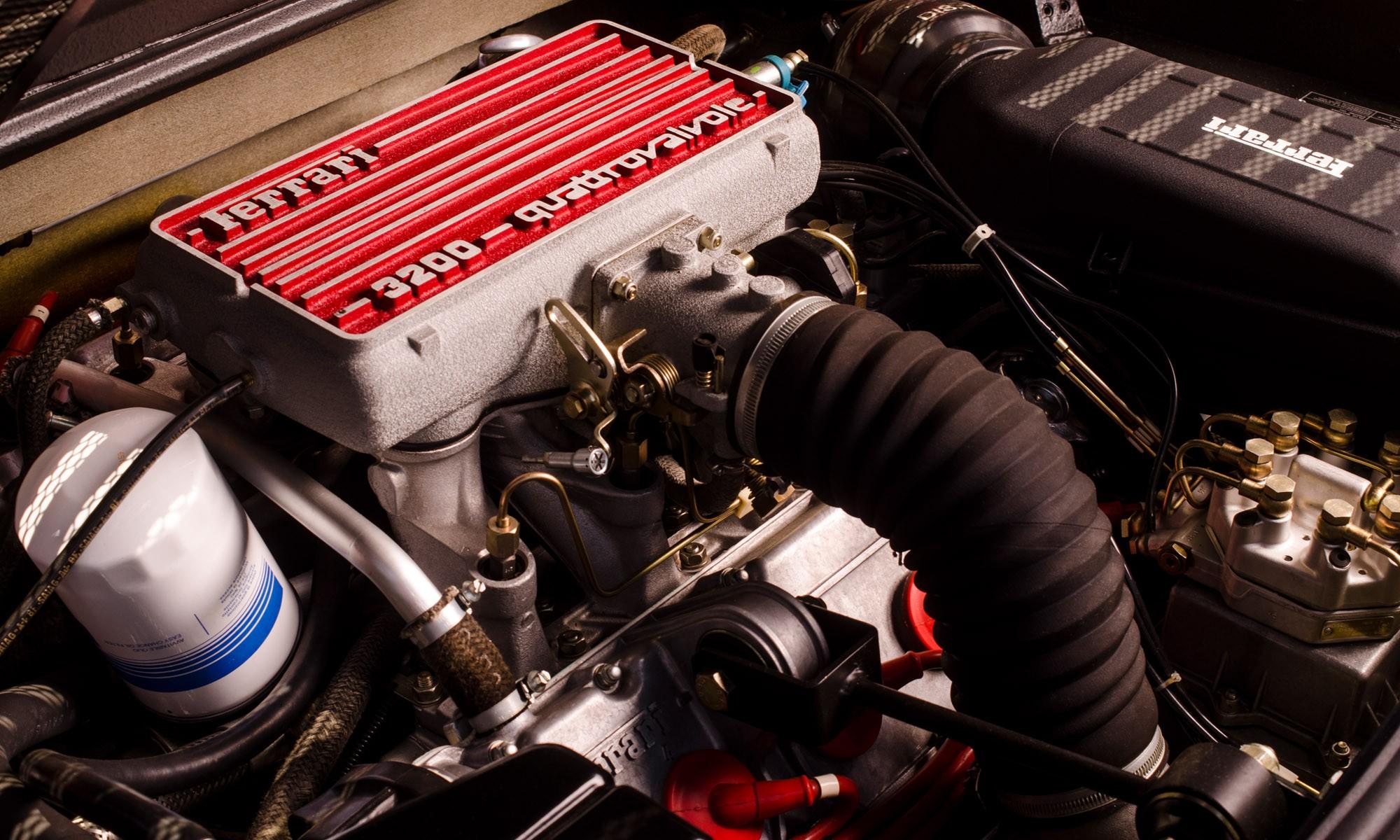 Ferrari 328 GTS engine