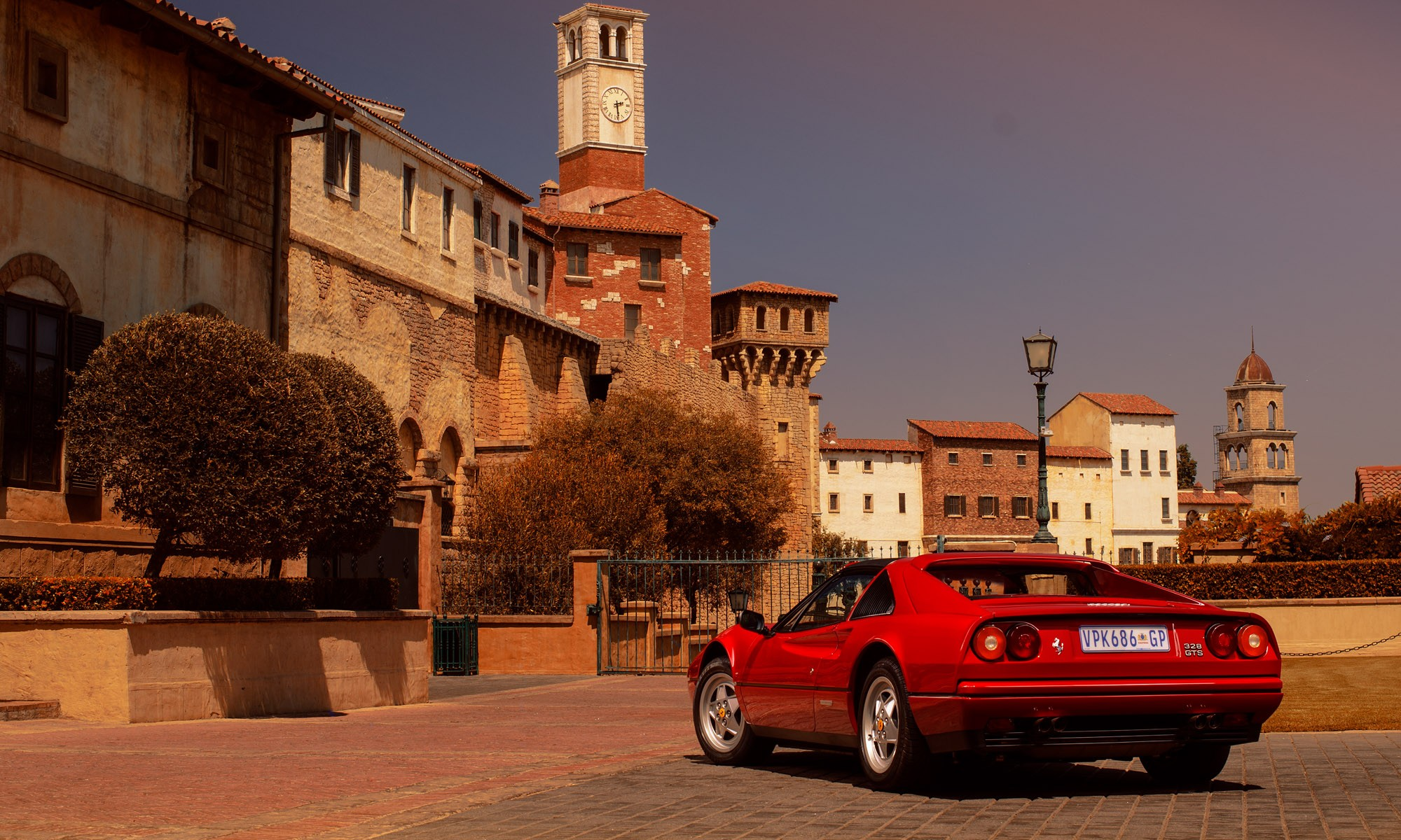 Ferrari 328 GTS rear