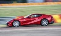 Ferrari 812 SuperFast in action at Fiorano
