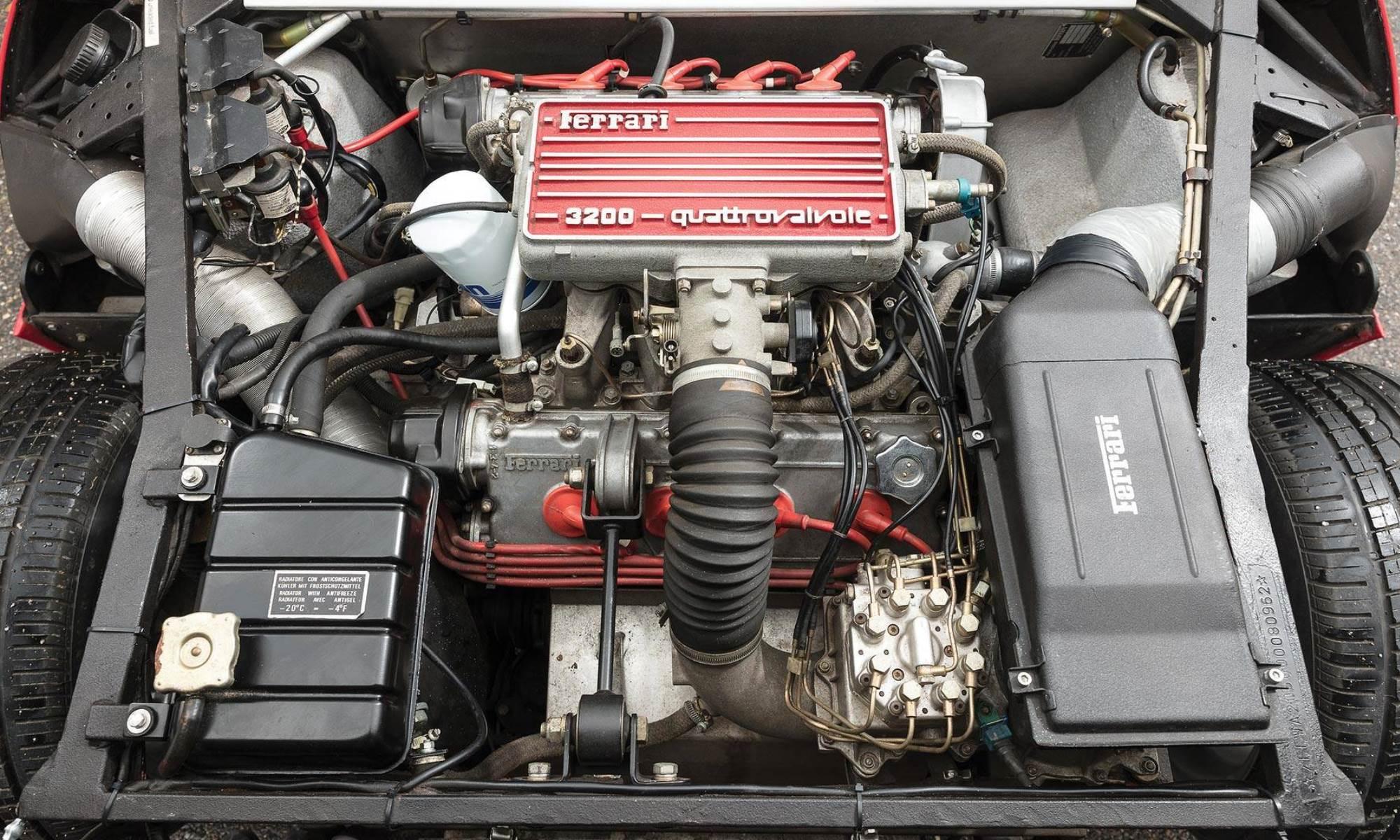 Ferrari Conciso engine