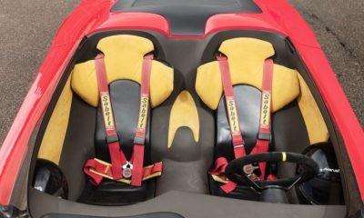Ferrari Conciso seats