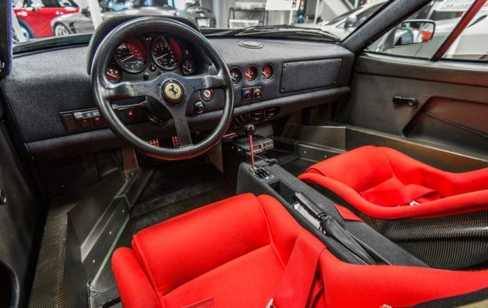 Ferrari F40 facia