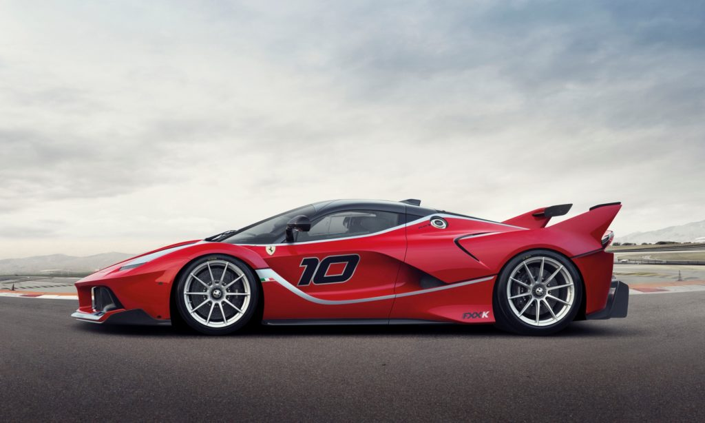 Ferrari FXX-K profile