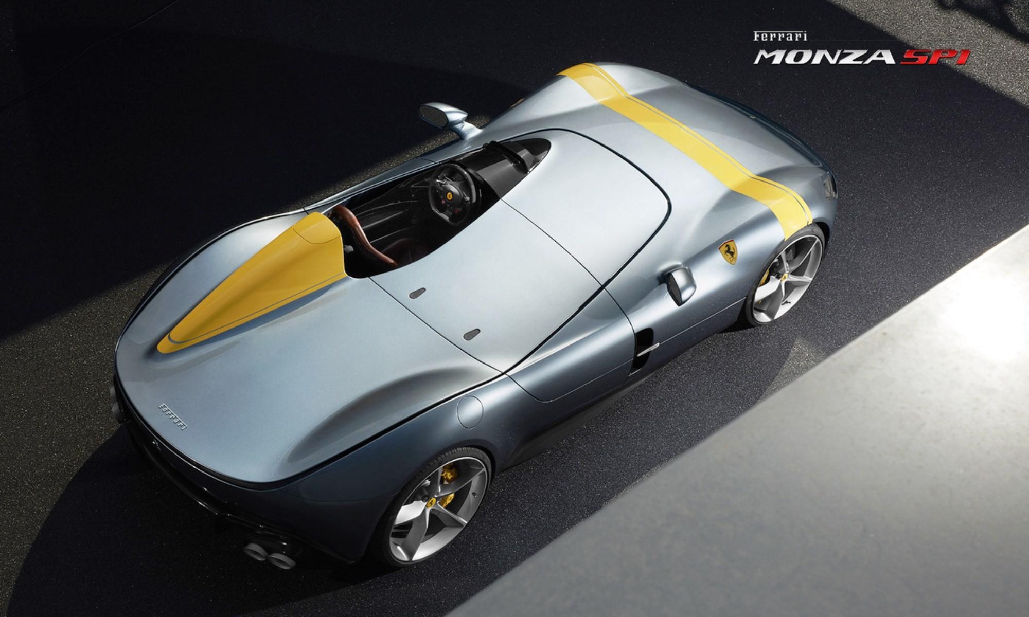 Ferrari Monza SP1 top