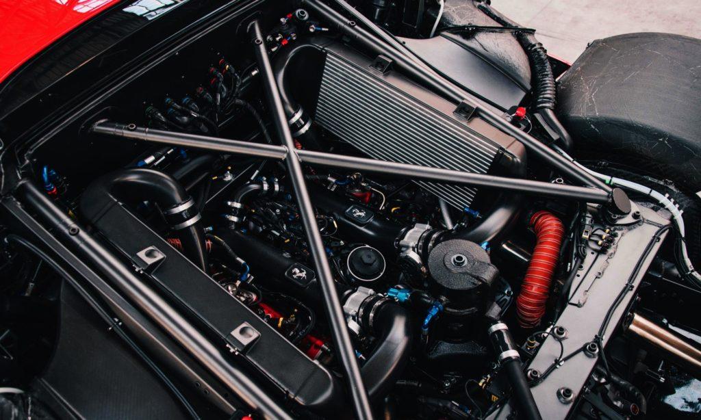 Ferrari P80/C engine