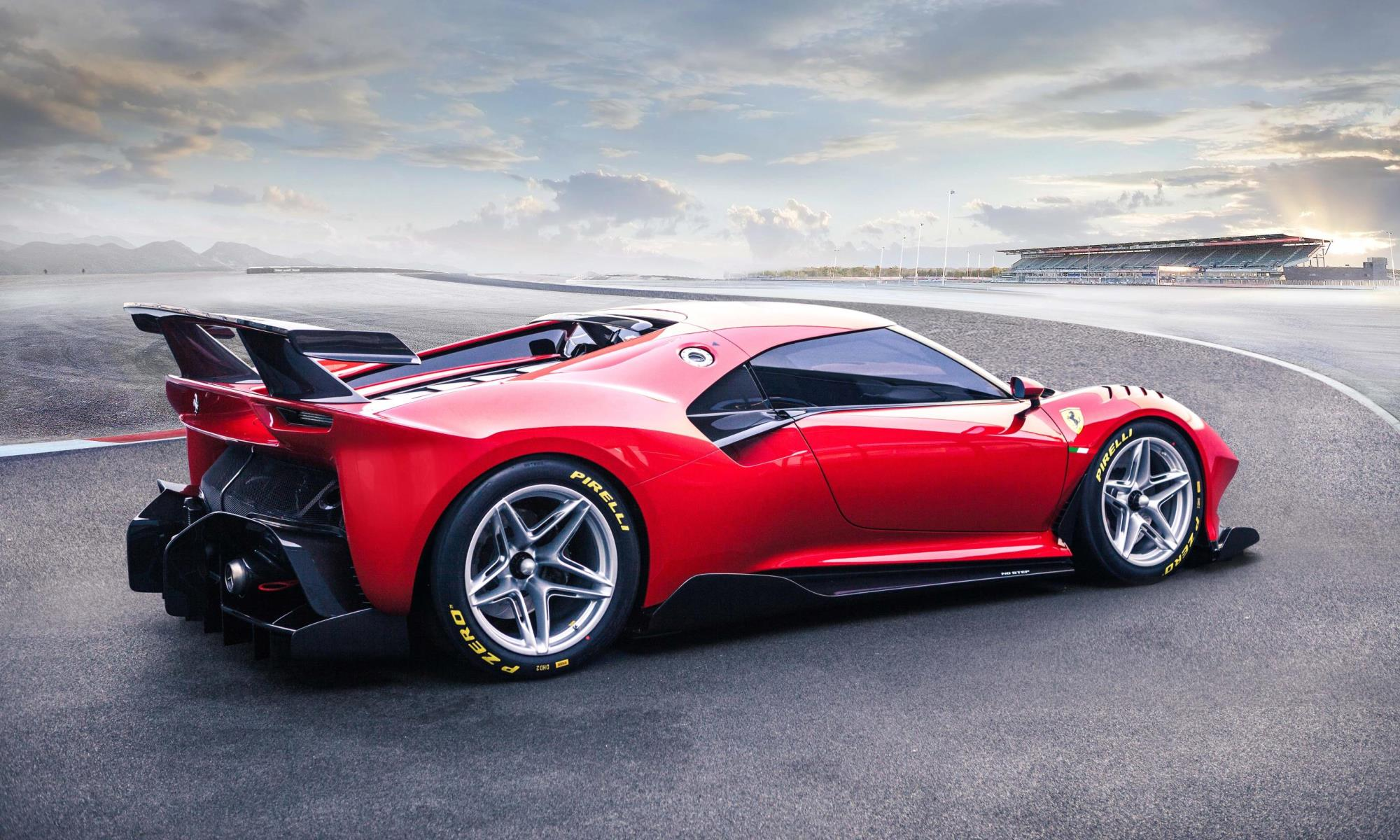 Ferrari P80/C rear
