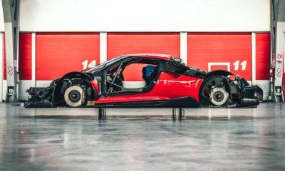 Ferrari P80/C stripped