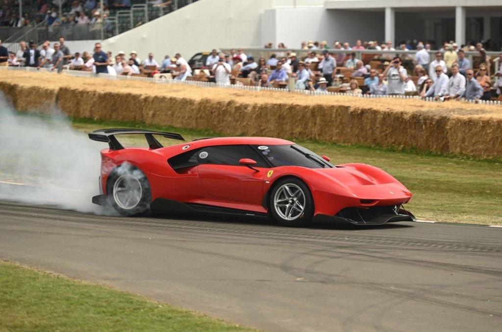 Ferrari P80C at 2019 Goodwood Festival of Speed