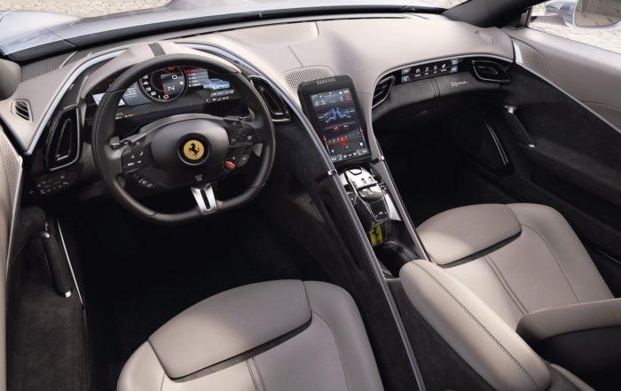 Ferrari Roma interior