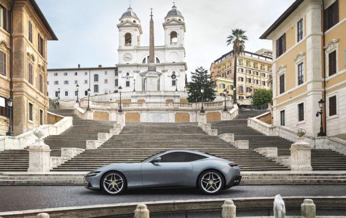 Ferrari Roma profile