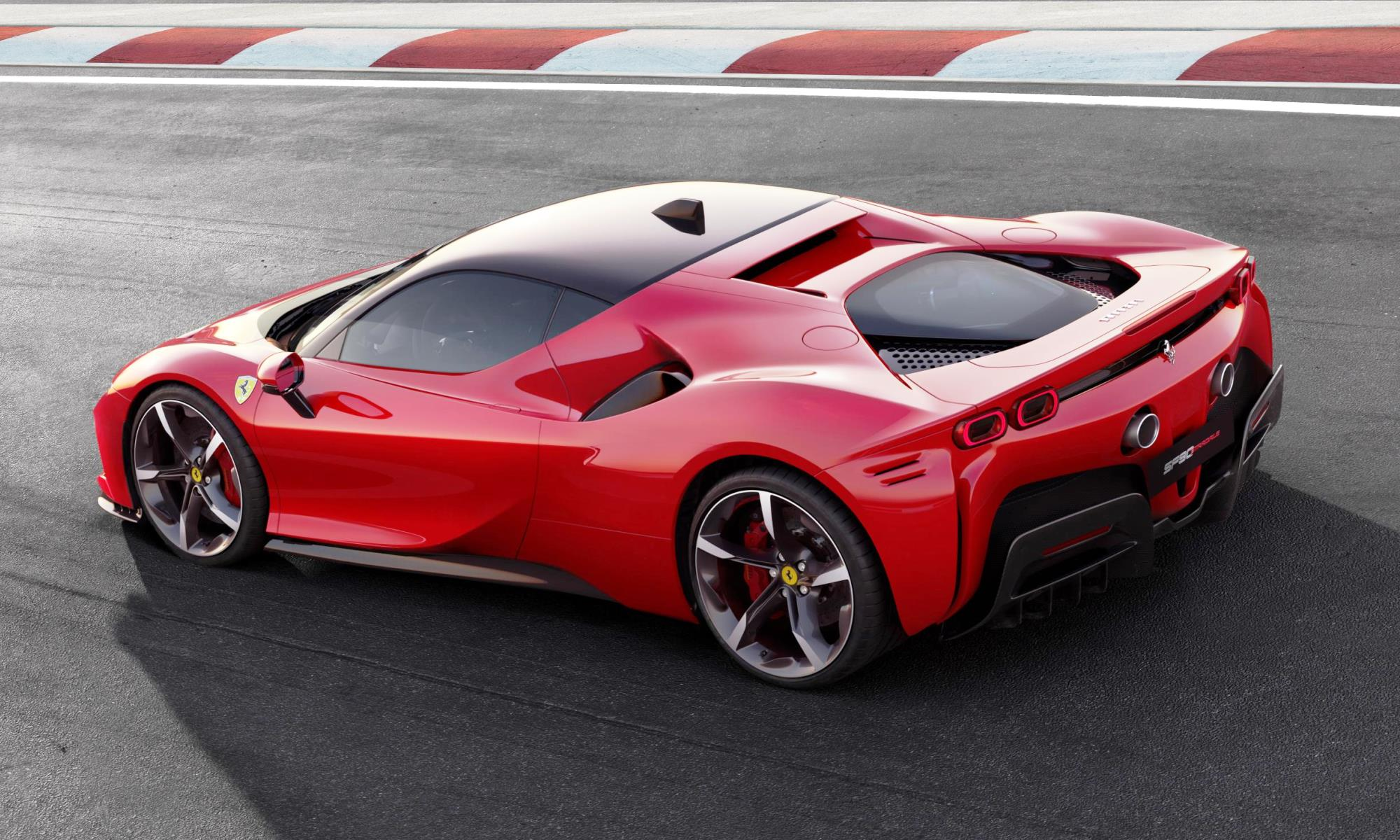 Ferrari SF90 Stradale side