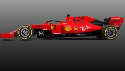 Ferrari SF90 profile